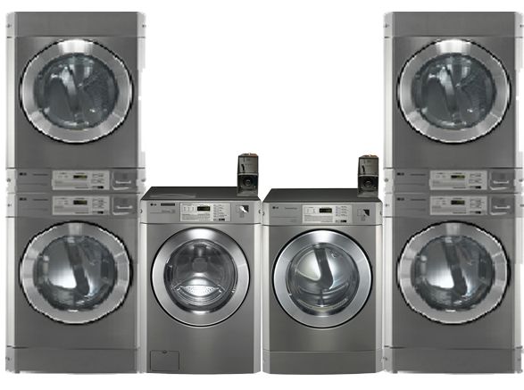 Vended Coin Commercial Laundry Equipment